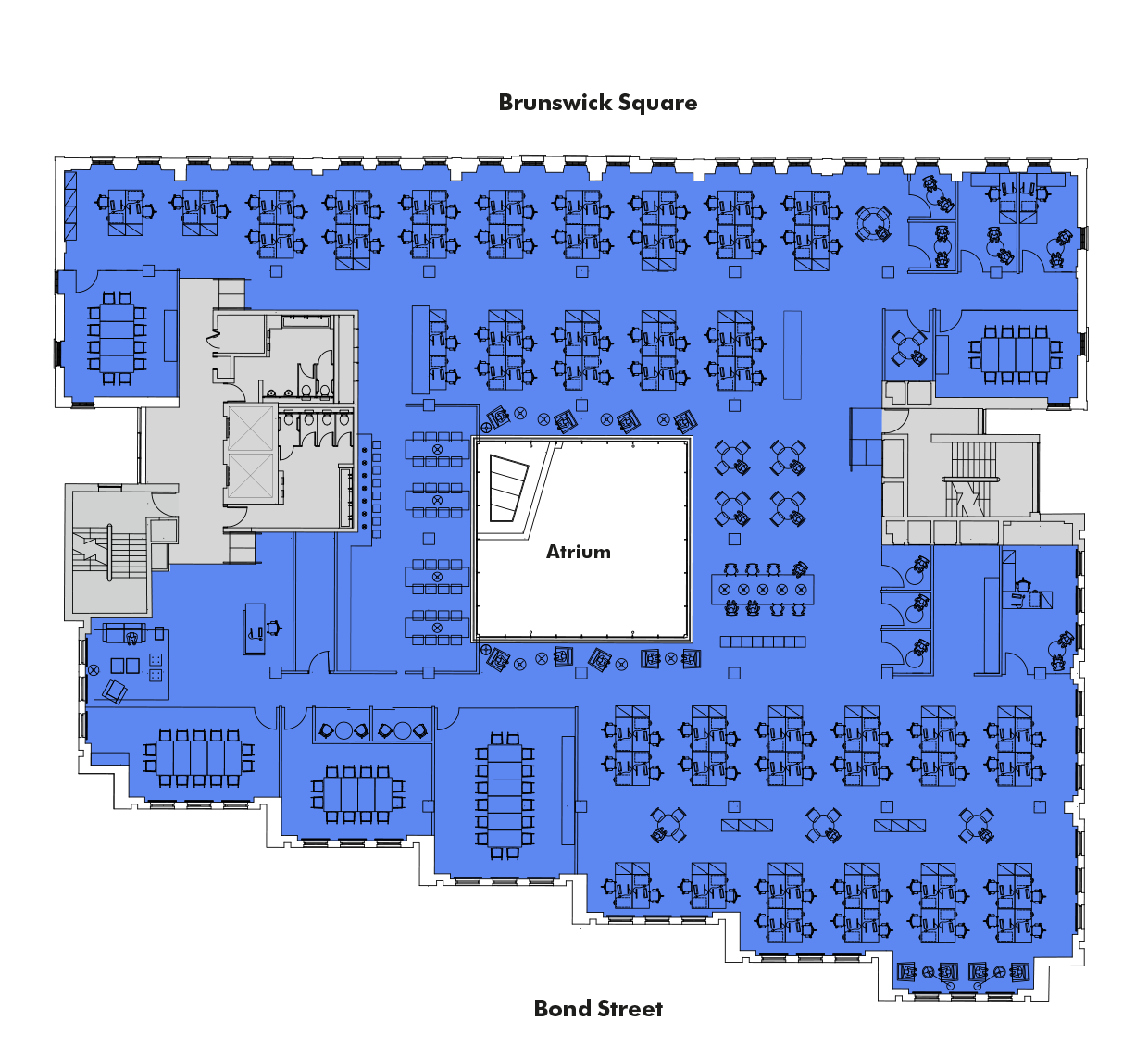 Single Occupancy layout 1st-2nd floors